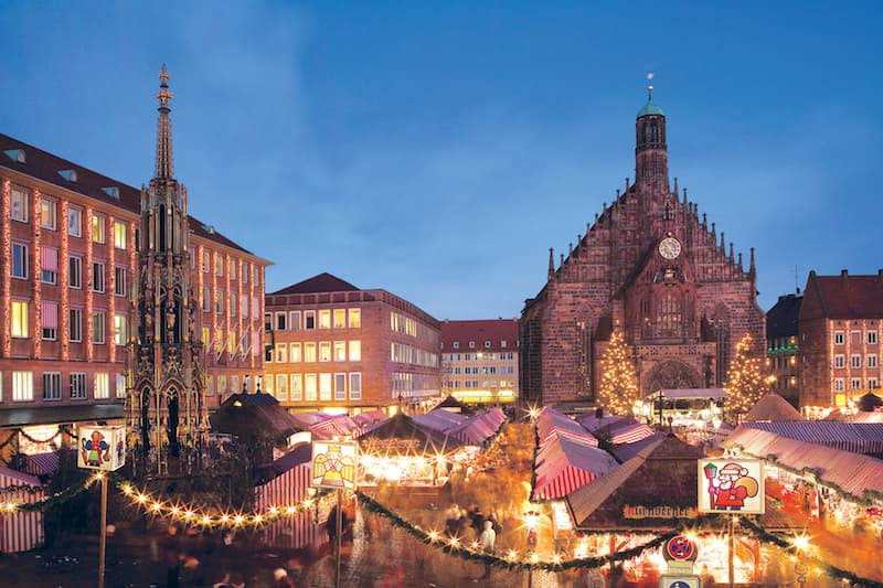 Christmas Market in Nuremberg, Germany